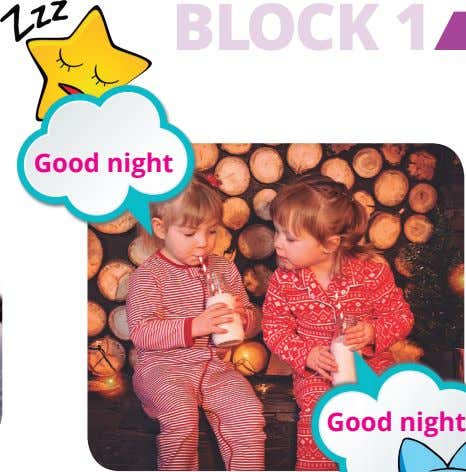 BLOCK 1 Good night Good night