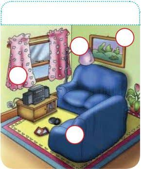 names. Then match the names of the objects and furniture. House & rooms Living room House