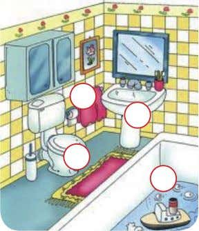 House Bathroom Hall Bedroom Kitchen Guía para el autoaprendizaje Lengua Adicional al Español II ( inglés