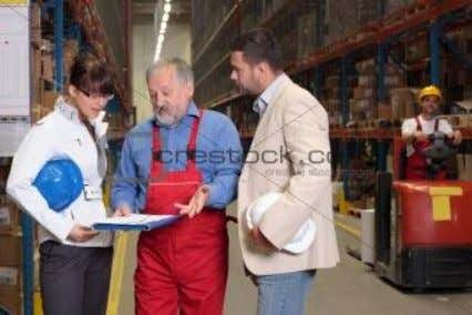 Warehouse management • Inventory accuracy is typically maintained by annual physical counts or counting portions of
