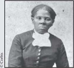 Harriet Tubman (1820-1913) was a runaway slave from Maryland. She led hundreds of sla- ves