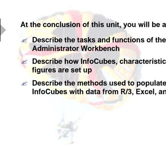 ? Describe the tasks and functions of the Administrator Workbench ? ?