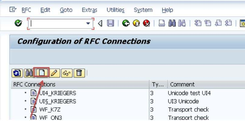 this RFC connection) the EPM_TEST user have to be created before. See Create Demo User SM59: