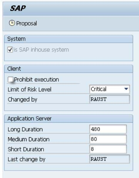 Switch unit tests on Process this step only if system type = SAP Use TA SAUNIT_CLIENT_SETUP