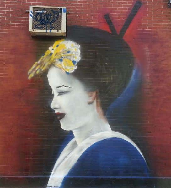 "a work of visual art on or at 5Pointz titled ""Geisha "": 158. Game 's copyright"