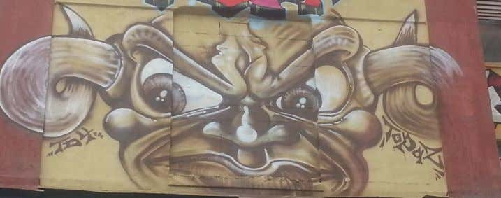 "work of visual art on or at 5Pointz titled ""Bull Face "": 163. Rocco's copyright registration"
