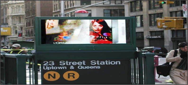 EMERGING OUT-OF-HOME • Platforms include cinema, digital billboards and retail networks 12