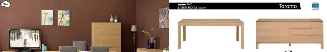 New Collection 2013 Toronto LIVING ROOM / SEJOUR