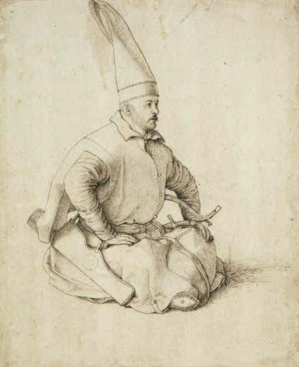 allowance for ammunition as well. [ 2 3 ] 4 Training A 15th-century Janissary drawing by