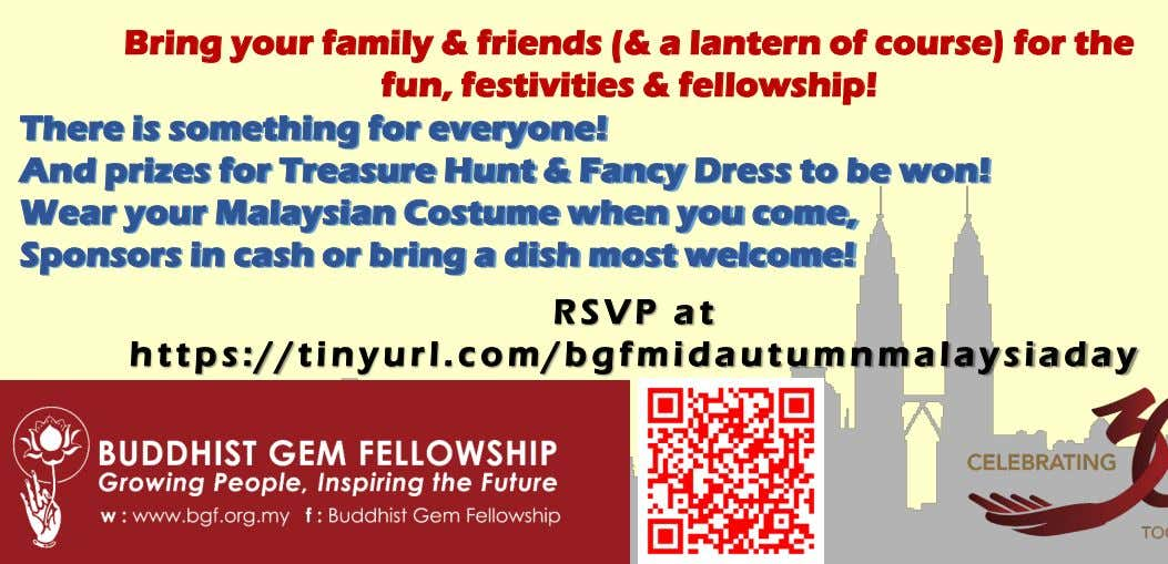 Bring your fami ly & friends (& a lantern of course) for the fun, festivities