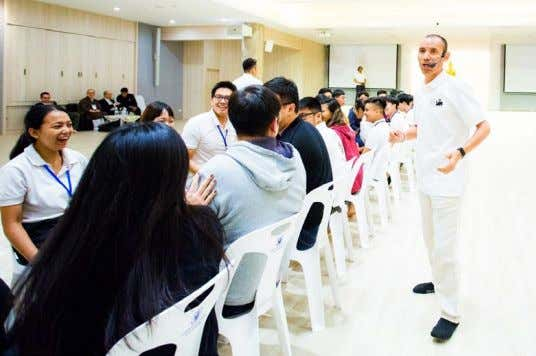 a few sessions that have made a lasting impression on me. Ice Breaking conducted by Mr.