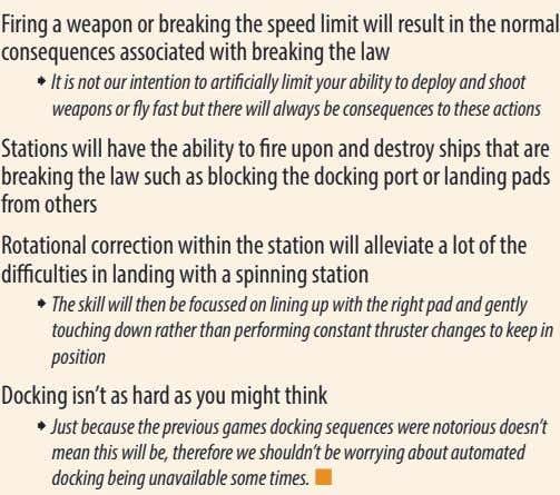 Firing a weapon or breaking the speed limit will result in the normal consequences associated