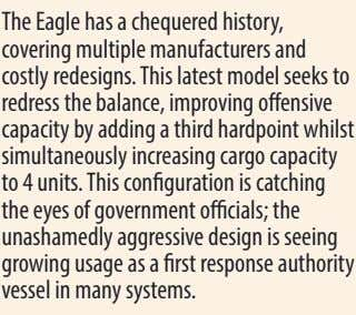 The Eagle has a chequered history, covering multiple manufacturers and costly redesigns. This latest model