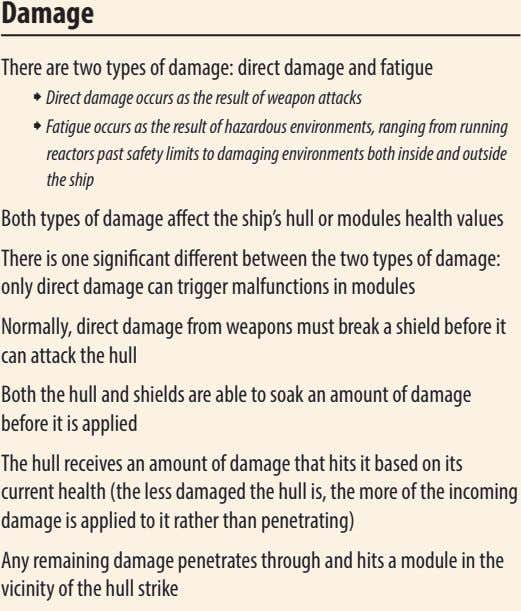 Damage There are two types of damage: direct damage and fatigue ˜ Direct damage occurs