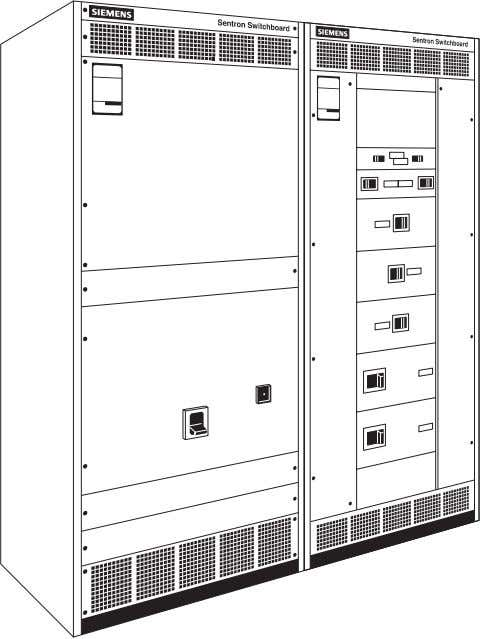 and SB3 Sentron™ switchboards can be found in a variety of industrial plants, hospitals, and commercial
