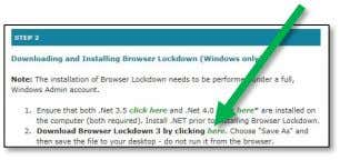 to Step 2 and click the green link to begin the download. 3. Perform a Save