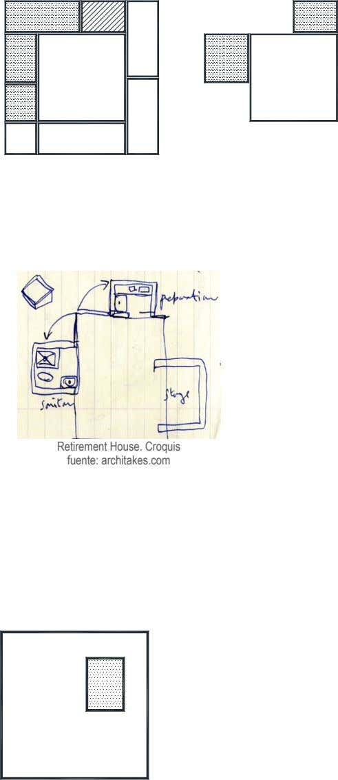Retirement House. Croquis fuente: architakes.com