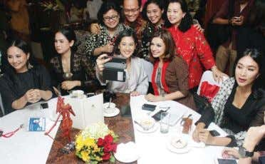 say the weap- ons are used almost daily. Female empowerment JP/Bagas Rahadian Actress Dian Sastrowardoyo (