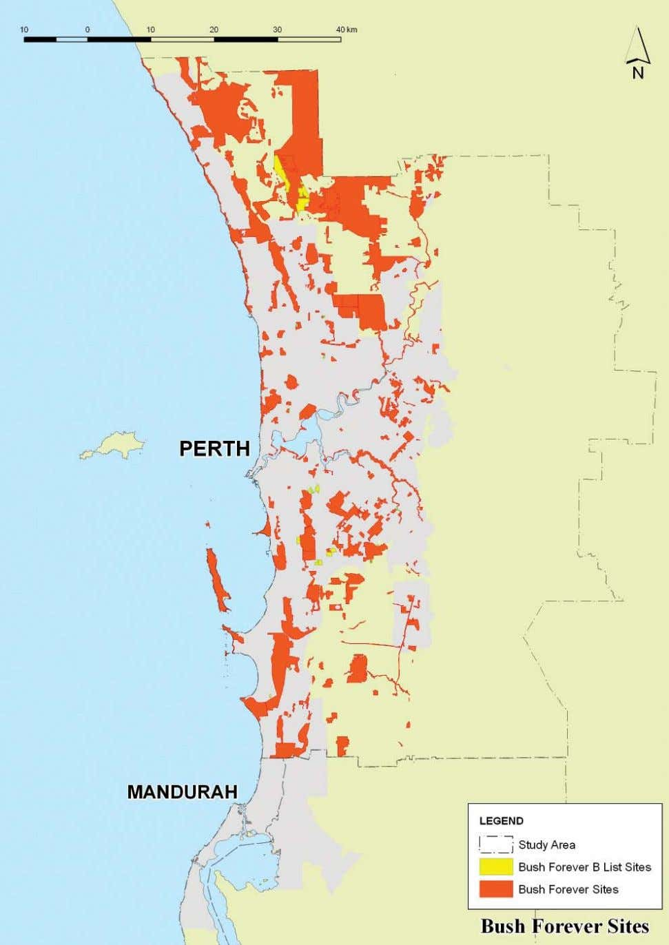BUSH FOREVER SITES IN THE PERTH - MANDURAH REGION 28