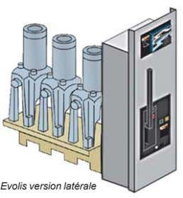 Evolis version latérale