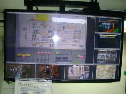 Analog to Digital video conversion Mounting of CCTV Monitoring Site Inblay Technology SA de CV |