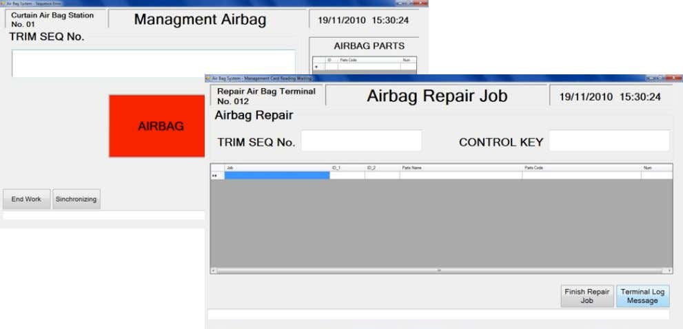 to install airbag to defined models. Validates torque, used tool, etc. Inblay Technology SA de CV