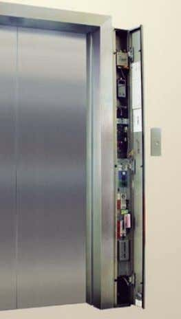 needed for trained technicians to control and maintain the elevator— simply and quickly. Emergency and Inspection