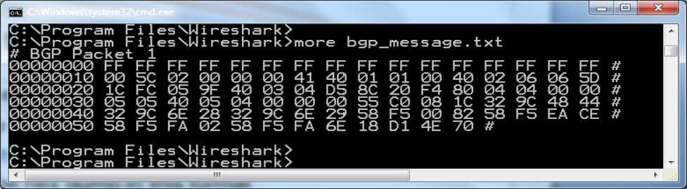  In a nutshell, put the hex dump in this format BRKRST-3320 © 2012 Cisco and/or
