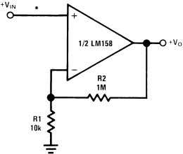 if the amplifier must be switched from source to source. *R not needed due to temperature