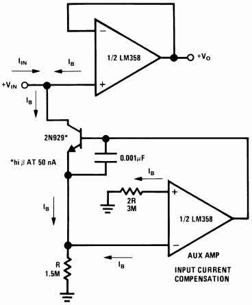 Typical Applications (continued) (V + = 5.0 V D C ) Figure 37. Using Symmetrical Amplifiers