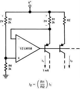 Amplifiers to Reduce Input Current (General Concept) Figure 38. Fixed Current Sources 20 Submit Documentation