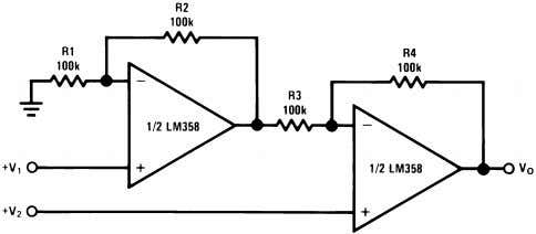 11 (As Shown) Figure 41. AC Coupled Non-Inverting Amplifier Figure 42. High Input Z, DC Differential