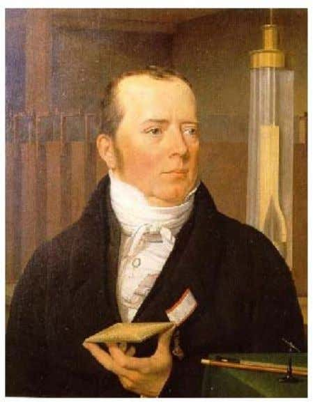 1820 Le Danois Hans Christian Oersted, professeur de sciences à l'université de Copenhague au Danemark,