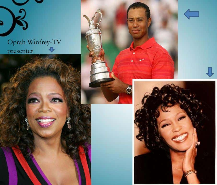 Oprah Winfrey-TV presenter