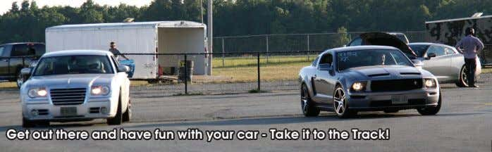 Get out there and have fun with your car - Take it to the Track!