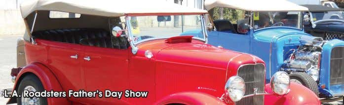 L.A. Roadsters Father's Day Show