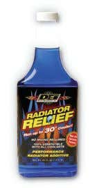 Quick Fix Tape forms a permanent waterproof seal. DN010491-2 Supercharge your radiator Radiator Relief Coolant Additive