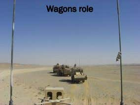 Wagons role