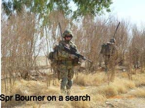 Spr Bourner on a search