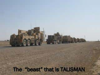 "The ""beast"" that is TALISMAN"