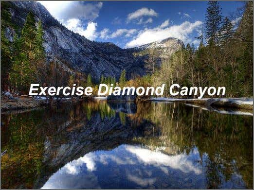 Exercise Diamond Canyon