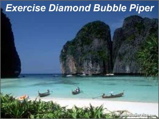 Exercise Diamond Bubble Piper