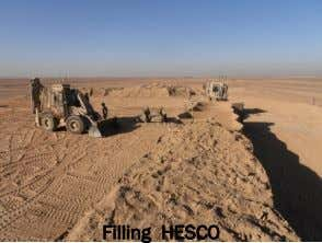 Filling HESCO