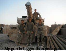 My gun is bigger than your gun