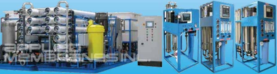 meeting your water quality requirements. Membrance Systems Water Treatment Components Membrance Elements