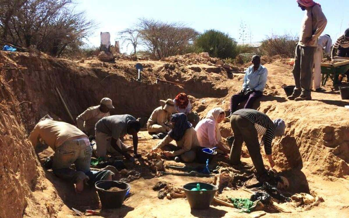FIELD SCHOOL FORENSIC ANTHROPOLOGY AND HUMAN RIGHTS IN THE HORN OF AFRICA: UNCOVERING SOMALILAND'S TROUBLED PAST