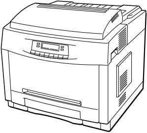 SERVICE MANUAL CODE: 00ZJX8200FM1E FIELD MANUAL CAUTION COLOR LASER PRINTER MODEL JX-8200 This laser printer is