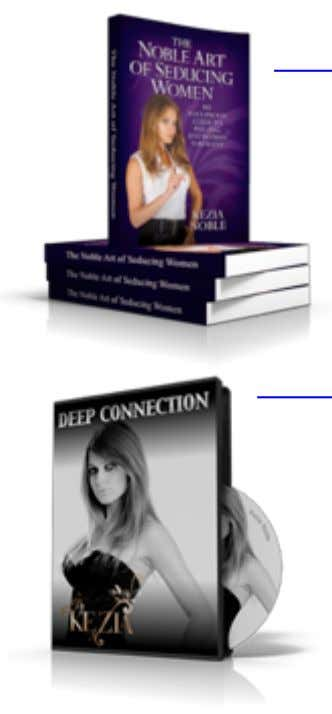 "Kezia Noble Training Materials ""15 Steps to Becoming a Master Seducer"" BOOK Have you ever dream't"