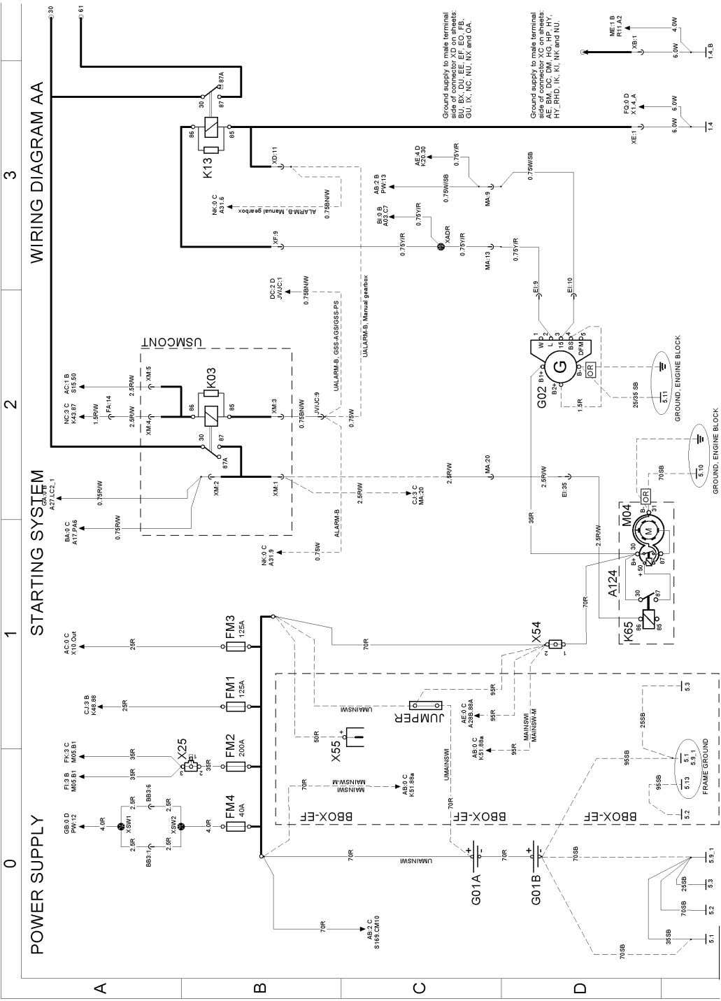 Component wiring diagrams Wiring diagram T3074910 Page 7 (298)