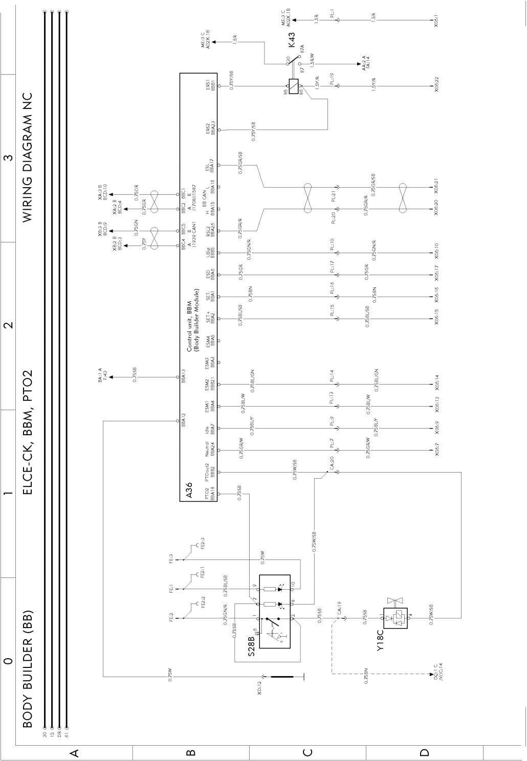 T3022011 Page 112 (298) Wiring diagram